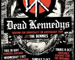 Dead Kennedys Australian Tour