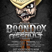 Boondox – The Underground Assault tour edition
