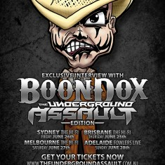 Boondox – The Underground Assault tour edition