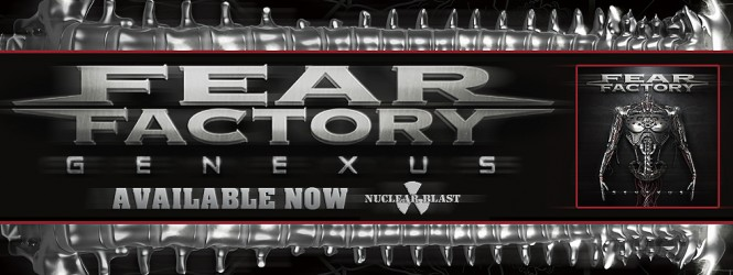 "Fear Factory's ""Genexus"" out today!"