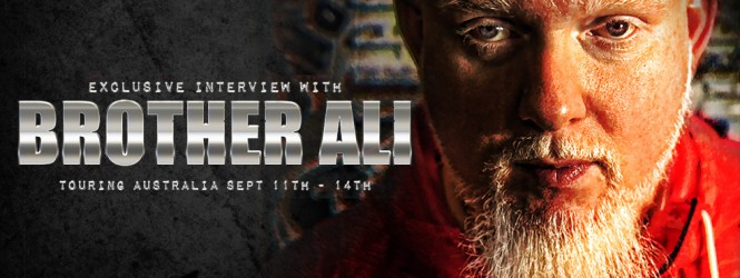 Brother Ali – Australian Tour/Interview