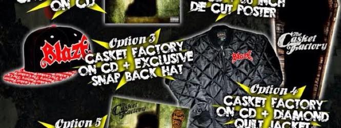 """Pre Order: Blaze Ya Dead Homie """"The Casket Factory"""""""