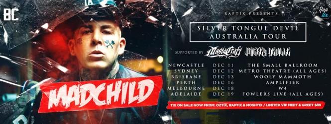 Madchild Australian Tour Postponed