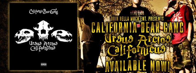 Album of the Month – California Bear Gang: Ursus Arctos Californicus
