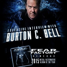 Burton C Bell – Metal Album of the Year : Fear Factory