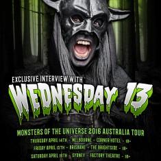 Wednesday 13 – February 2016