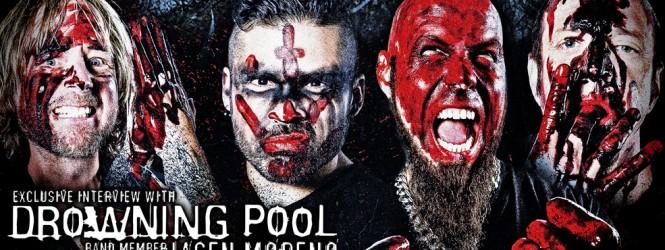 Jasen Moreno (Drowning Pool) Interview & Australian Tour