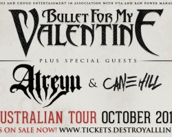 Bullet For My Valentine Australian tour