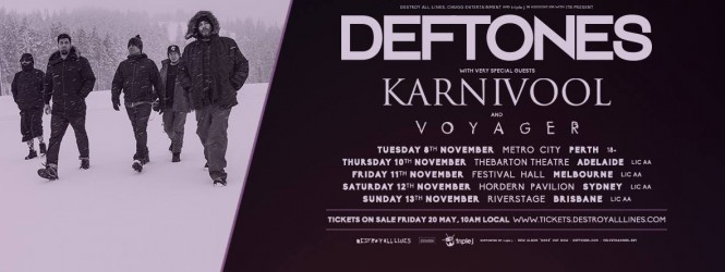 Deftones – Australian Tour