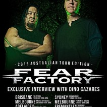 Dino Cazares (Fear Factory) May 2016