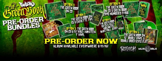 Twiztid – The Green Book Pre Order Details