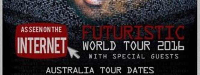 Futuristic Australian Tour – Almost Here!