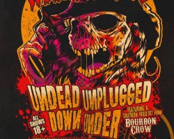 "Wednesday 13 ""Undead Unplugged Down Under"" 2017"