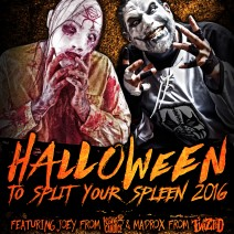 Halloween to Split Your Spleen 2016