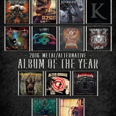 Metal/Alternative Album of the Year 2016