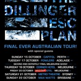 The Dillinger Escape Plan – Final Ever Australian Tour: Perth
