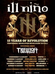 ILL NIÑO & Terror Universal Australian Tour: Adelaide