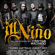 Cristian Machado (Ill Nino) May 2017