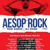 Aesop Rock – Australian/NZ Tour: Perth