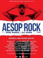 Aesop Rock – Australian/NZ Tour: Brisbane
