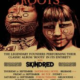 MAX & IGGOR CAVALERA 'RETURN TO ROOTS' – Adelaide
