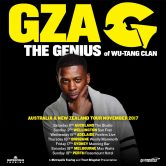 GZA – The Genius Australian and New Zealand Tour: Brisbane