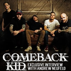 Andrew Neufeld (Comeback Kid) September 2017