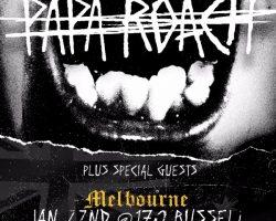 Papa Roach – Australian Tour