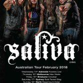 Saliva – Australian Tour: Adelaide
