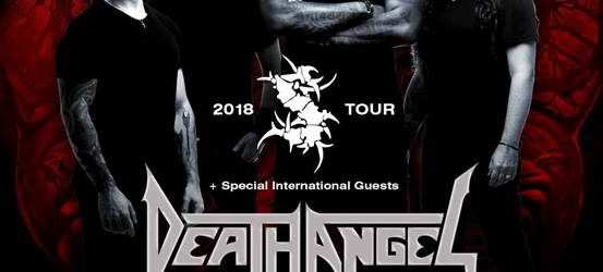 Sepultura 2018 Australian tour