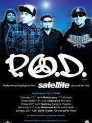 P.O.D – Australian Tour : Brisbane
