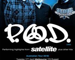 P.O.D – Melbourne (April 17th) review