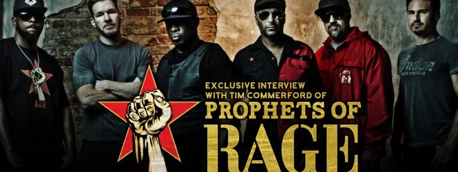 Tim Commerford (Prophets of Rage) Interview