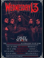 Wednesday 13 – Davey Suicide: Australian Tour – Sydney