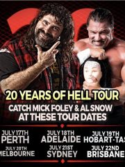 Mick Foley 20 Years of Hell Tour – Tasmania!