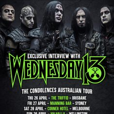 Wednesday 13 – April 2018
