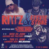 Rittz – Stevie Stone – G-Mo Skee Australian Tour: Sydney