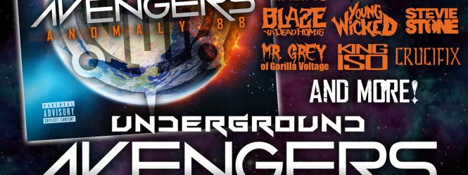 The Underground Avengers – Anomaly 88 at MNA
