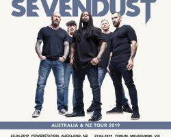 Sevendust: 2019 – NZ/Australian Tour