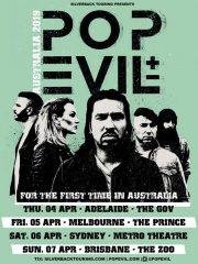 Pop Evil – Australian Tour (Adelaide)