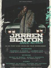 Jarren Benton – Australian Tour (Brisbane)