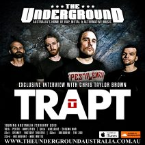 Chris Taylor Brown (Trapt) February 2019