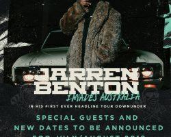 Jarren Benton Australian Tour – Postponed