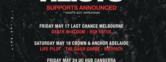 She Cries Wolf Australian tour
