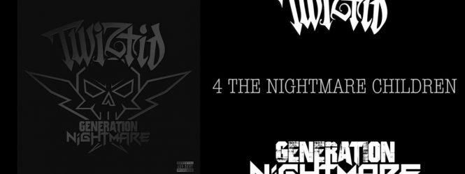 """Twiztid """"4 the Nightmare Children"""" lyric video"""