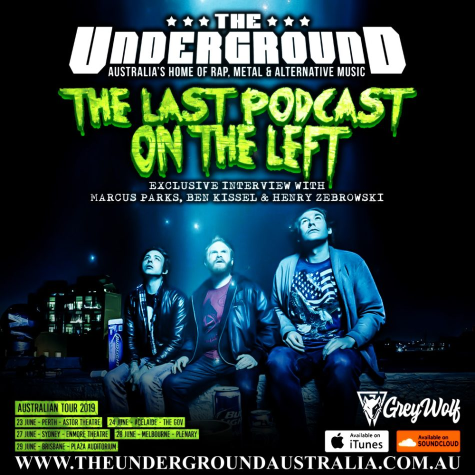 The Last Podcast On The Left Marcus Parks Ben Kissel Henry Zebrowski June 6th The Underground Australia Check out our ben kissel selection for the very best in unique or custom, handmade pieces from our laptop shops. the underground australia