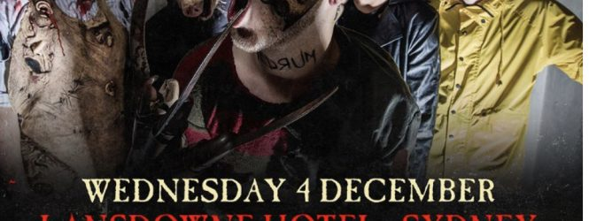 Ice Nine Kills Australian Side Shows