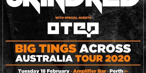 Skindred/Otep Australian Tour