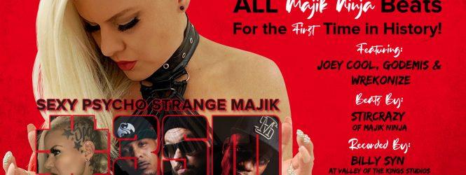 "J. Irja the Sexy Psycho ""Sexy Psycho – Strange Majik"" out now"