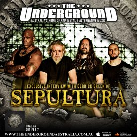 Derrick Green (Sepultura) January 2020